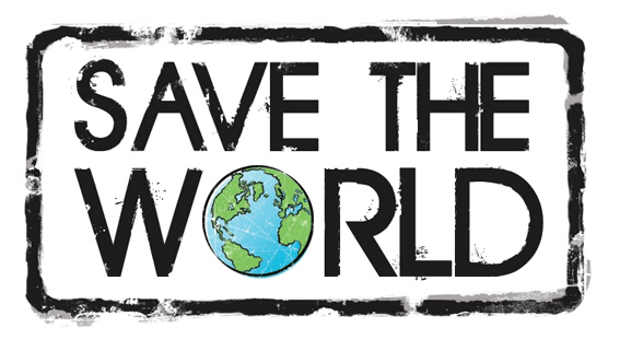 Image result for saving the world